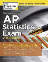 Omslag - Cracking the AP Statistics Exam, 2018 Edition