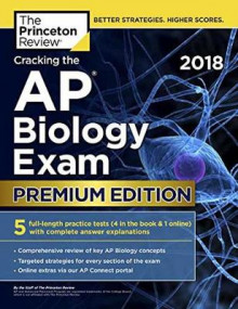 Cracking the AP Biology Exam 2018 av Princeton Review (Heftet)