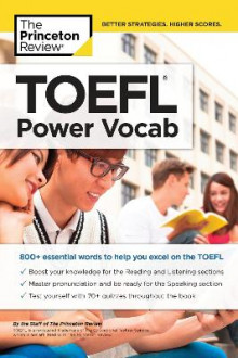 TOEFL Power Vocab av Princeton Review (Heftet)