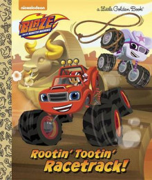Rootin' Tootin' Racetrack! (Blaze and the Monster Machines) av Frank Berrios (Innbundet)