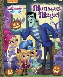 Monster Magic! (Shimmer and Shine) av Kristen L Depken (Innbundet)