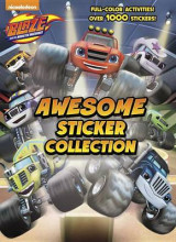 Omslag - Blaze and the Monster Machines Awesome Sticker Collection (Blaze and the Monster Machines)