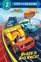 Omslag - Blaze's Big Race! (Blaze and the Monster Machines)