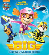 Omslag - Paw Patrol Big Lift-And-Look Board Book (Paw Patrol)