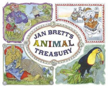 Jan Brett's Animal Treasury av Jan Brett (Innbundet)