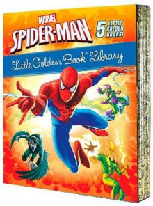 Spider-Man Little Golden Book Library (Marvel) av Various (Innbundet)