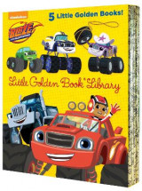 Omslag - Blaze and the Monster Machines Little Golden Book Library (Blaze and the Monster Machines)