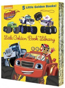 Blaze and the Monster Machines Little Golden Book Library (Blaze and the Monster Machines) av Various (Innbundet)