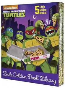 Teenage Mutant Ninja Turtles Little Golden Book Library (Teenage Mutant Ninja Turtles) av Various (Innbundet)