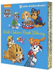 Paw Patrol Little Golden Book Library (Paw Patrol) av Various (Innbundet)