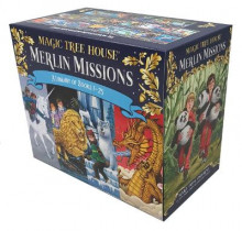 Magic Tree House Merlin Missions #1-25 Boxed Set av Mary Pope Osborne (Innbundet)