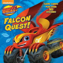 Falcon Quest! (Blaze and the Monster Machines) av Mary Tillworth (Heftet)