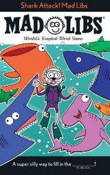 Omslag - Shark Attack! Mad Libs