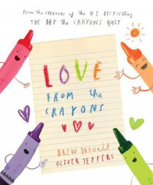 Love from the Crayons av Drew Daywalt (Innbundet)