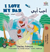 I Love My Dad (English Arabic Bilingual Book) av Shelley Admont og Kidkiddos Books (Innbundet)