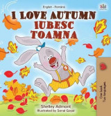 Omslag - I Love Autumn (English Romanian Bilingual Book for Children)