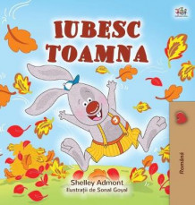 I Love Autumn (Romanian children's book) av Shelley Admont og Kidkiddos Books (Innbundet)
