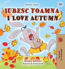 I Love Autumn (Romanian English Bilingual Book for Kids) av Shelley Admont og Kidkiddos Books (Innbundet)