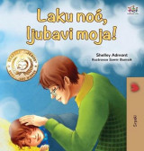 Omslag - Goodnight, My Love! (Serbian Book for Kids - Latin alphabet)