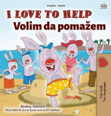 Omslag - I Love to Help (English Serbian Bilingual Book for Kids - Latin Alphabet)