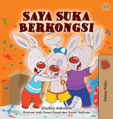 Omslag - I Love to Share (Malay Children's Book)
