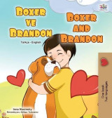 Omslag - Boxer and Brandon (Turkish English Bilingual Children's Book)