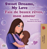 Omslag - Sweet Dreams, My Love (English French Bilingual Book for Kids)