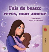Omslag - Sweet Dreams, My Love (French Children's Book)