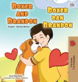 Omslag - Boxer and Brandon (English Malay Bilingual Children's Book)