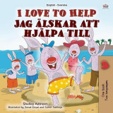 Omslag - I Love to Help (English Swedish Bilingual Book for Kids)