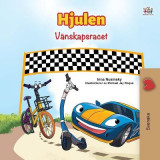 Omslag - The Wheels -The Friendship Race (Swedish Children's Book)