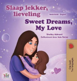 Omslag - Sweet Dreams, My Love (Dutch English Bilingual Children's Book)