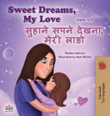 Omslag - Sweet Dreams, My Love (English Hindi Bilingual Book for Kids)