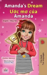Omslag - Amanda's Dream (English Vietnamese Bilingual Book for Kids)