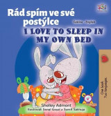 Omslag - I Love to Sleep in My Own Bed (Czech English Bilingual Book for Kids)