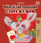 Omslag - I Love My Mom (Czech English Bilingual Book for Kids)