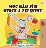 Omslag - I Love to Eat Fruits and Vegetables (Czech Children's Book)