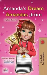 Omslag - Amanda's Dream (English Swedish Bilingual Book for Kids)