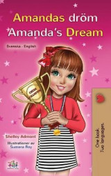 Omslag - Amanda's Dream (Swedish English Bilingual Book for Kids)