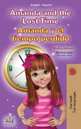 Omslag - Amanda and the Lost Time (English Spanish Bilingual Book for Kids)