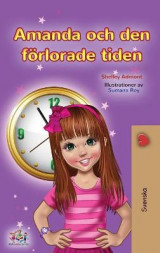 Omslag - Amanda and the Lost Time (Swedish Children's Book)