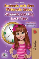 Omslag - Amanda and the Lost Time (Swedish English Bilingual Book for Kids)