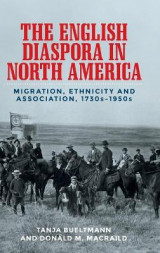 Omslag - The English Diaspora in North America