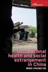 Omslag - Occupational Health and Social Estrangement in China