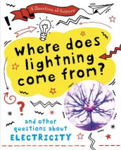 A Question of Science: Where does lightning come from? And other questions about electricity av Anna Claybourne (Heftet)