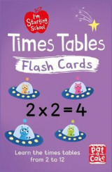 Omslag - I'm Starting School: Times Tables Flash Cards