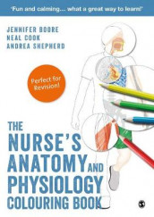 The Nurse's Anatomy and Physiology Colouring Book av Jennifer Boore, Neal Cook og Andrea Shepherd (Heftet)
