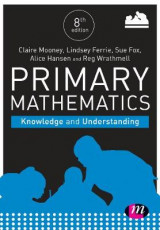 Omslag - Primary Mathematics: Knowledge and Understanding