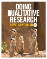 Omslag - Doing Qualitative Research
