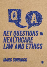 Omslag - Key Questions in Healthcare Law and Ethics